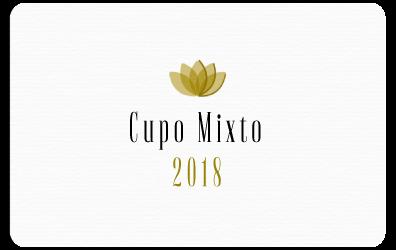 Cupo Mixto 2018