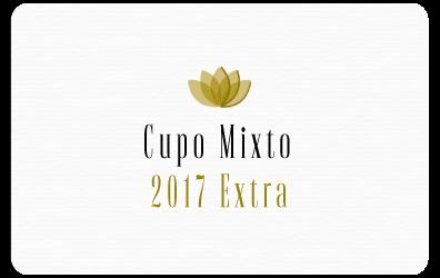 Cupo Mixto 2017 Extra